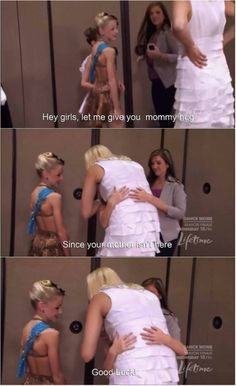 Dance Moms. See proof!! Christi obviously cares about all of the girls and doesn't hate any if them. I mean that is so sweet. And she is supporting Maddie