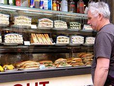 Sandwich shop in Rome