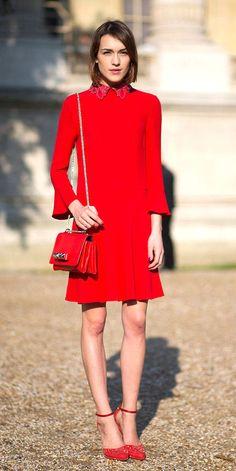 Gloria Kalil ensina como usar e combinar o vermelho sem acabar parecendo o Papai Noel | Chic - Gloria Kalil: Moda, Beleza, Cultura e Comportamento