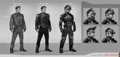 East Jousai male uniform by Stefana-Tserk.deviantart.com on @deviantART