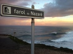 Place where mc namara surfed the biggest wave in the world nazare