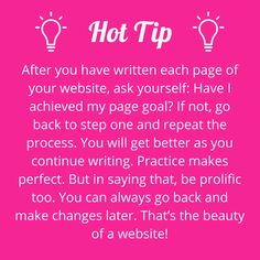 Your writing doesn't have to be perfect – you can always change it later. #writerstips #contentmarketing #wowwords #girlboss #Australia #Brisbane