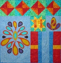 Boho Bliss Block 7 Quilt Pattern TCQ-41