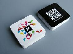 Mini cartão c/ corte especial