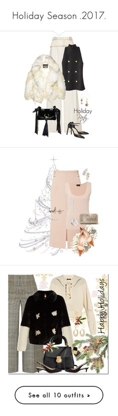 """""""Holiday Season .2017."""" by jacque-reid ❤ liked on Polyvore featuring Roberto Cavalli, Jimmy Choo, Attico, Akris, Casadei, Irene Neuwirth, Frontgate, Isabel Marant, Burberry and Sam Edelman"""