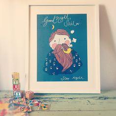 Tante Tin Poster Good Night Sailor
