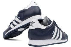 outlet store 4518c 66785 ADIDAS Samoa G24861 Navy   White Extremely popular in the  80s, the Samoa  from