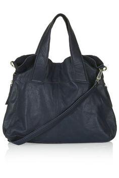 Leather Alba Hobo Bag // Topshop