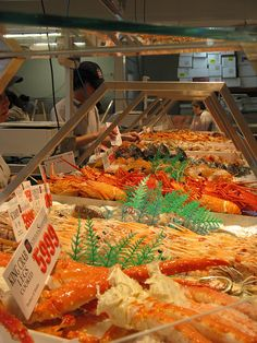 Fish market in Sydney