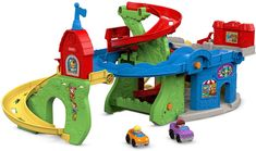 Fisher-Price Little People Sit n Stand Skyway. This is a favorite toy our 1 year old Loves, It's super popular and something he loves playing with.