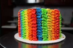 Tequila Cake: Delicious & Boozy Lime and Tequila Cake Recipe All You Need Is, Tequila Cake, Ruffle Cake, Ruffles, Wilton, Pinata Cake, Lime Cake, Frosting Tips, Types Of Cakes