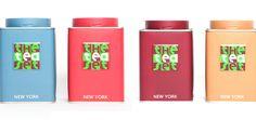 organic tea in cool packaging