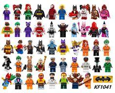 Building Blocks Super Heroes Poison Ivy Calendar People Zodiac Master Pink Power Batgirl Fairy Batman Toys for children KF1041 #Affiliate