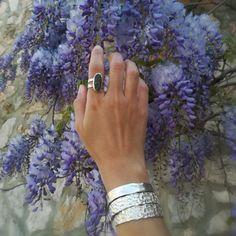 Find your unique summer bracelets Summer Bracelets, Cuff Bracelets, Silver Cuff, Silver Rings, Unique, Jewelry, Jewlery, Jewerly, Schmuck