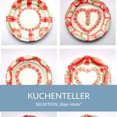 kuchenteller_rojoverde_sel Natural Selection, Simple Lines, Tablewares