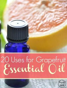 20 Uses for Grapefruit Essential Oil. There are many essential oils that I would never be without. Grapefruit essential oil is definitely on that list. Click her for recipes including how to remove oil build up from your skin! Doterra Oils, Doterra Essential Oils, Natural Essential Oils, Young Living Essential Oils, Essential Oil Blends, Yl Oils, Pure Essential, Slow Cosmetic, Grapefruit Essential Oil