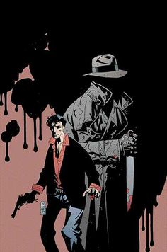 Dylan Dog by Mike Mignola