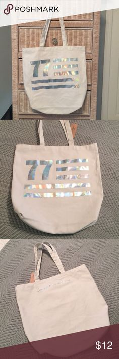 American Eagle Tote Bag- BNWT Brand new with tags. Never used. American eagle tote. American Eagle Outfitters Bags Totes