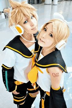 Rin and Len Kagamine. (Vocaloids). Rin Kagamine is pretty much my ultimate dream cosplay, but it wouldn't be quite so magical without a Len Kagamine. I mean, they have to be together! But none of my friends are obsessed with Vocaloid.... or cosplay...