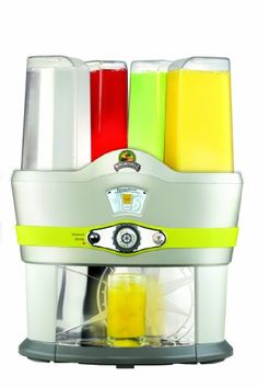 Margaritaville  Drink Mixer is all about variety. At the push of a button, any one of 48 different cocktails - from Screwdrivers to Whiskey Sours - can be poured into your glass.