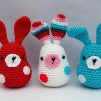 Mesmerizing Crochet an Amigurumi Rabbit Ideas. Lovely Crochet an Amigurumi Rabbit Ideas. Easter Crochet Patterns, Crochet Amigurumi Free Patterns, Crochet Dolls, Crochet Hook Set, Cute Crochet, Easy Crochet, Holiday Crochet, Crochet Gifts, Crochet Rabbit