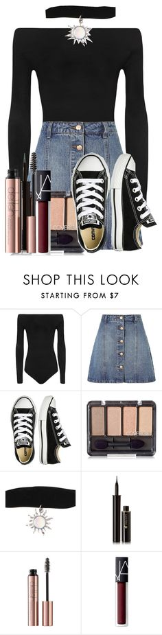 """""""Louise Ollivander - Graduation Outfit"""" by potterheadpatronus on Polyvore featuring WearAll, Anita & Green, Converse, Lancôme and NARS Cosmetics"""