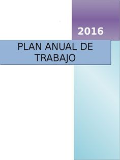 I'm reading Plan Anual de Trabajo 2016 Modelo on Scribd
