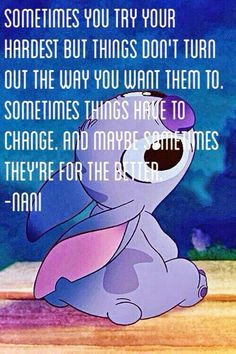 this is so meaningful. i love the deep quotes from disney.
