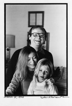 Joan Didion John Gregory Dunne And Their Daughter Quintana Roo By Jill Krementz 1972