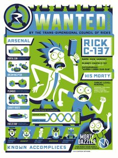 Uma homenagem à melhor série animada do momento: Ricky and Morty | IdeaFixa