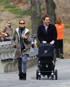 Princess Madeleine of Sweden with her husband Christopher O'Neill and their daughter Princess Leonore are seen enjoying a stroll in Central Park in New York City on wonderful spring day, 22.03.14