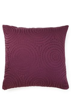 Circle Jacquard cushion - Purple #BHSLightupyourlife