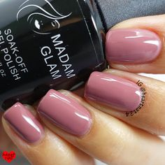 nails.quenalbertini: Madam Glam Soak Off Gel Polish- Stylishly Fashionable