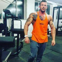 b74dc694e mondays with Featured setup: ✓ Prison orange Marauder ✓ Orion gym pants. Iron  Tanks Gym Gear