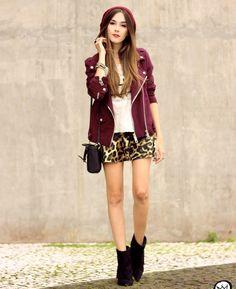 plum-biker-jacket-with-leopard-print-skirt