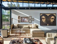 Modern Front Elevation with Desert Landscape | LuxeSource | Luxe Magazine - The Luxury Home Redefined