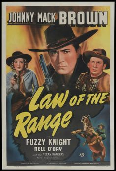 "Movie Posters:Western, Law of the Range (Universal, 1941). One Sheet (27"" X 41""). Western.... Image #1"