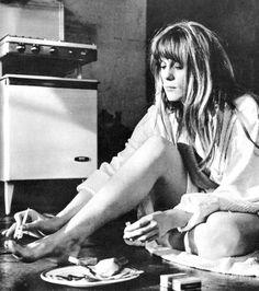Françoise Dorléac in Cul-de-sac (Roman Polanski - 1966)