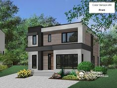 166 Best Modern House Plans U0026 Contemporary Home Designs Images On Pinterest  In 2018 | Contemporary House Plans, Modern Home Design And Modern House  Design