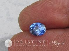 Blue Sapphire Oval Shape for Fine Gemstone Jewelry Ring or Engagement Ring September Birthstone Loose Gemstone