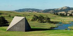 Sol LeWitt, Pyrmid, Gibbs Farm, New Zealand http://www.gibbsfarm.org.nz/ | http://en.wikipedia.org/wiki/Alan_Gibbs#Art_and_sculpture_collection_at_Gibbs_Farm