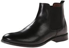 Aldo Men's Dwiwen Chelsea Boot, Black Leather, ...
