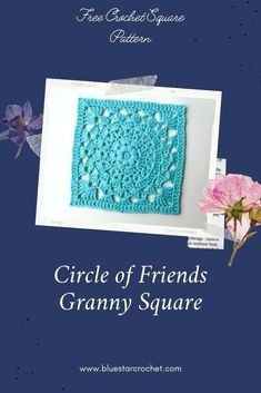 stunning free crochet afghan square pattern designed for Friendship Crochet Along. Create this beautiful crochet square using this beginner friendly crochet afghan square pattern. Crochet Squares Afghan, Crochet Granny, Free Crochet, Pattern Design, Free Pattern, Beautiful Crochet, Friendship, Crochet Patterns, Community