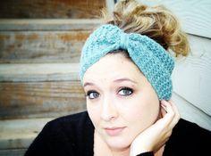 Fairy Tale Winter Headband in Powder Blue