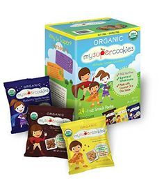 MySuperCookies Organic Whole Grain Cookies, Nut and Dairy Free (24-1 Ounce Packs) * Click on the image for additional details.