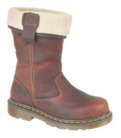 b60a1153ed3 Dr Martens Rosa Premium Leather Fleece Lined Ladies Safety Rigger Boots