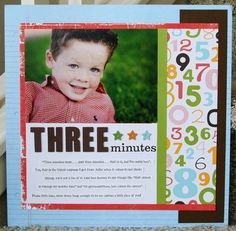 Three Minutes-use for Molly layout