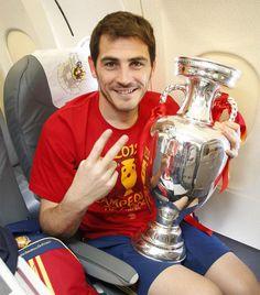 Así fue el viaje en avión de La Roja a España