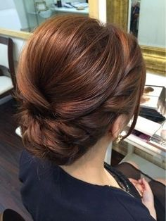 low bridal updo ~ we ❤ this! moncheribridals.com