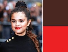 """""""When trying this look, still pick the strongest feature and make that the statement,"""" advises Inglessis. Makeup artist Katey Denno did that. Mascara, Eyeliner, Eyeshadow, Maquillage Black, Top Braid, Deep Autumn, Eye Makeup Tips, All About Eyes, Selena Gomez"""